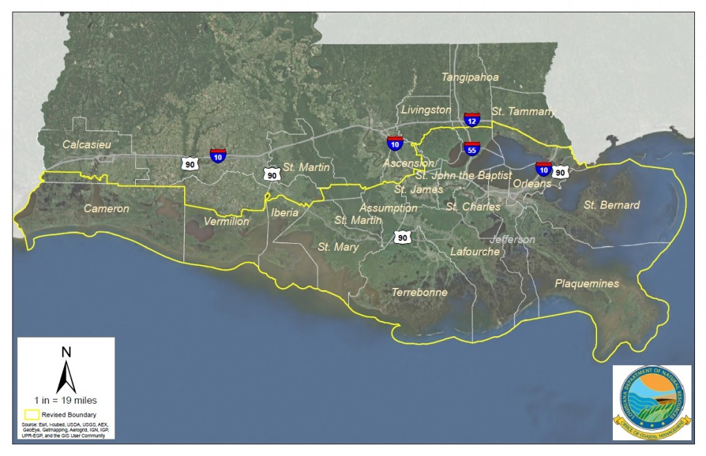 Louisiana coastal parishes