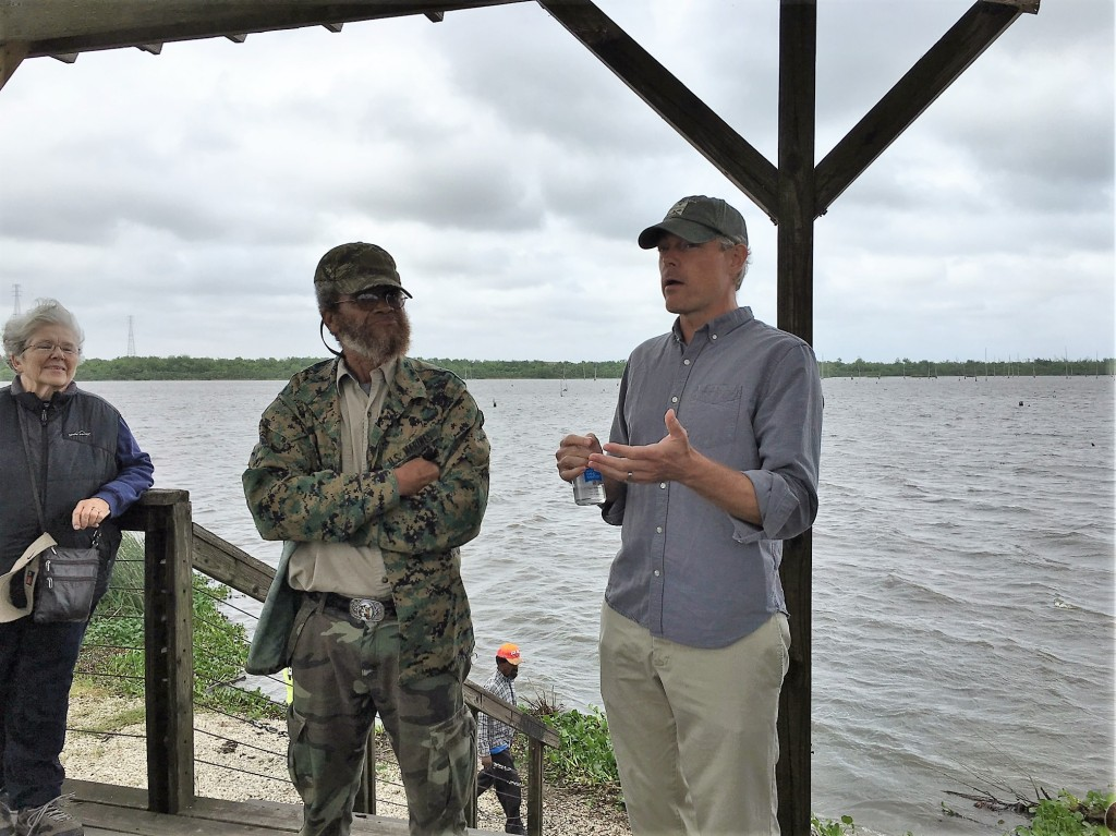 Aaron Viles, Rayne Caring For Creation Committee member and Gulf Restoration Network board member discusses the state of advocacy efforts to restore the Bayou and Louisiana's coastal wetlands with John Taylor, Lower Ninth Ward Center for Sustainable Engagement and Development.