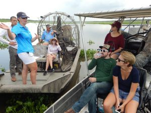 Theryn and Crew - Restore the Mississippi River Delta