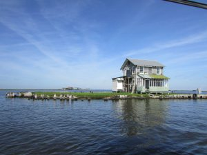 House on the coast - Restore the Mississippi River Delta