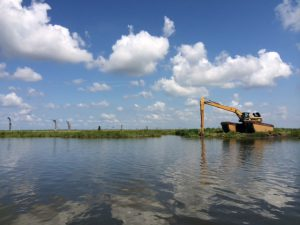 Lake Hermitage Marsh Creation - Restore the Mississippi River Delta