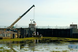 Flood Wall work - Restore the Mississippi River Delta