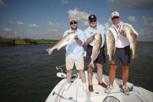 Fishing trip - Restore the Mississippi River Delta