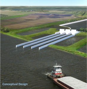 Sediment Diversion Design - Restore the Mississippi River Delta