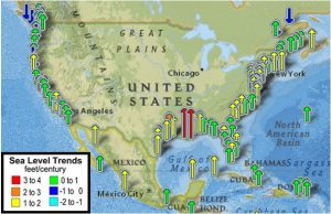 Figure modified from: http://tidesandcurrents.noaa.gov/sltrends/sltrends.html