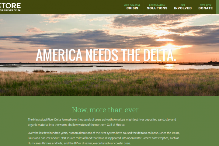 Welcome to the New and Improved MississippiRiverDelta.org!
