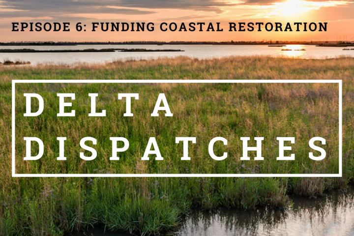 Delta Dispatches Podcast – Funding Coastal Restoration