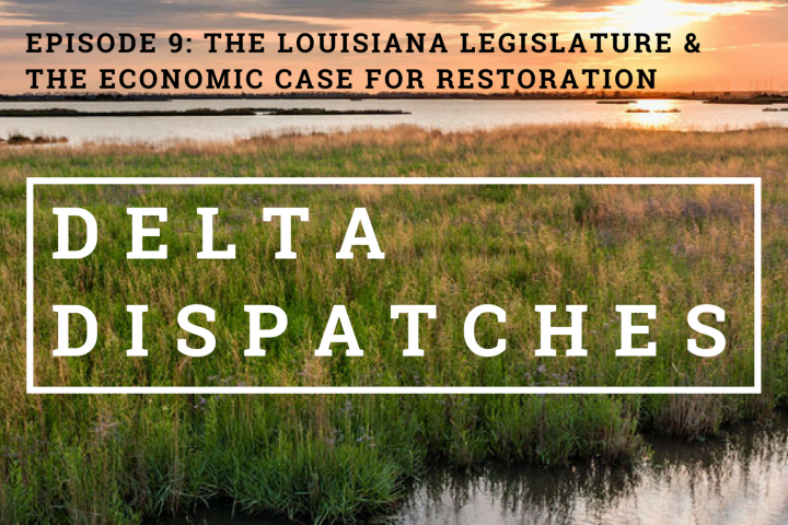 Delta Dispatches: The Louisiana Legislature & the Economic Case for Restoration