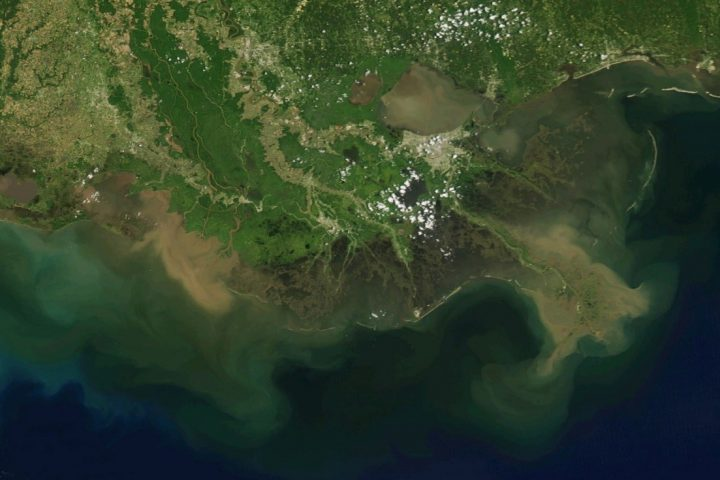 Facing Continued Land Loss, Mississippi River Delta Needs Diversions More Than Ever