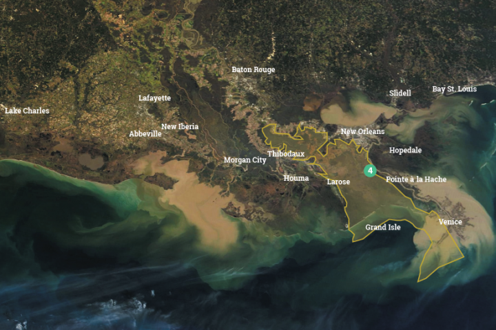 Mid-Barataria Sediment Diversion Takes Another Step Forward