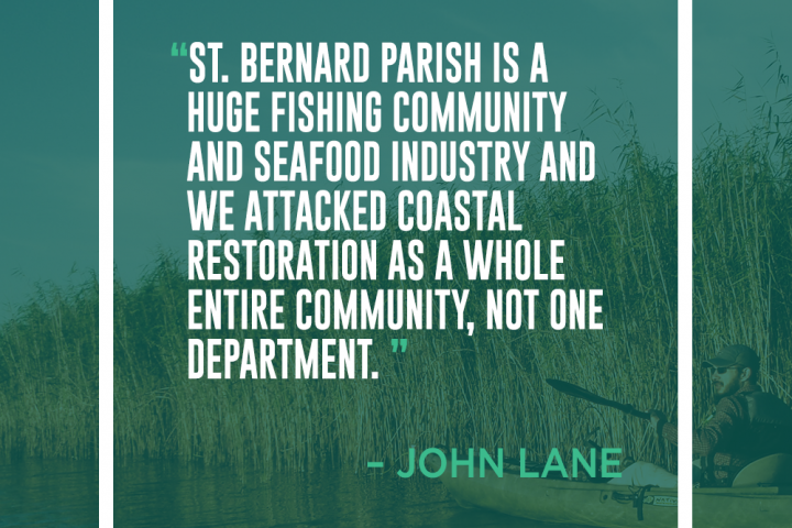 Delta Dispatches: Sitting Down with the St. Bernard Parish Coastal Division