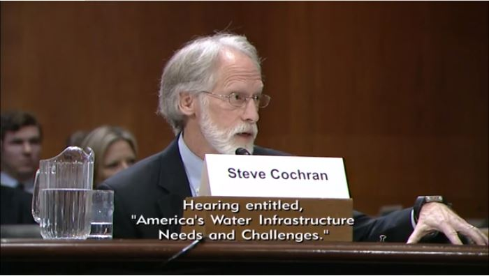 Steve Cochran to U.S. Senate Committee: Enhance Investments in Our Critical Natural Infrastructure