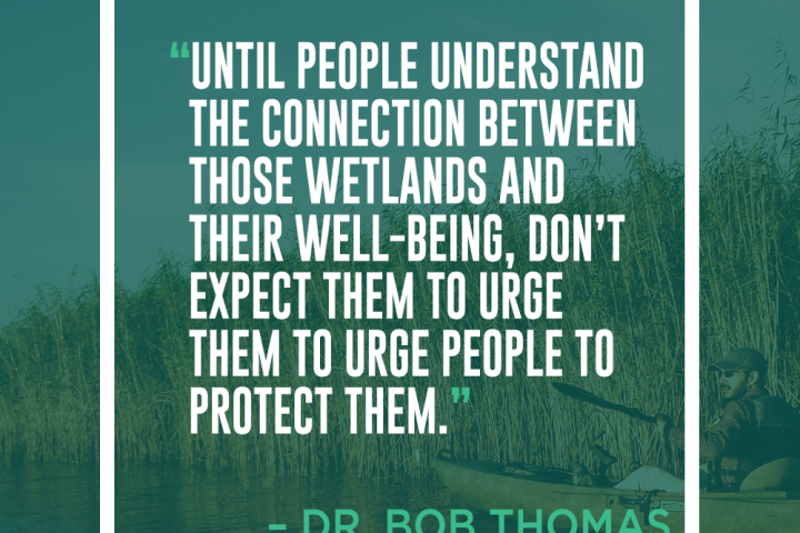 Delta Dispatches: Communicating the Environment with Dr. Bob Thomas