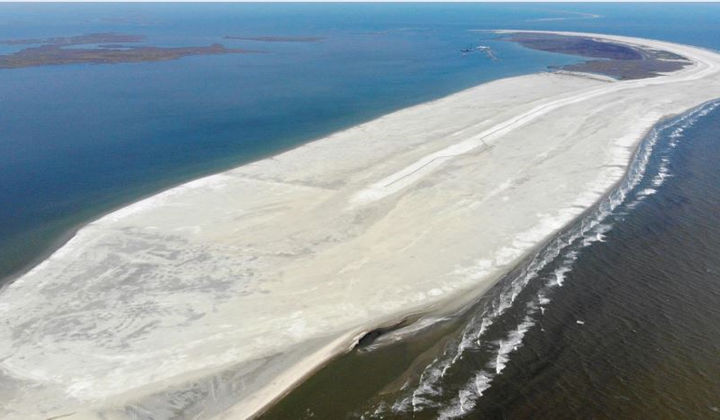 Explore the Largest Coastal Restoration Project Completed In Louisiana's History